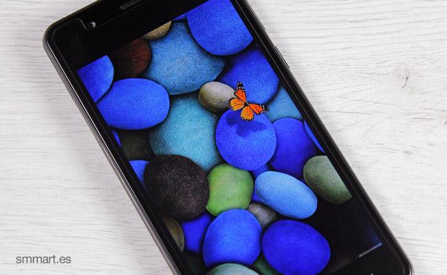 Elephone P8 Mini pantalla Sharp 1920x1080