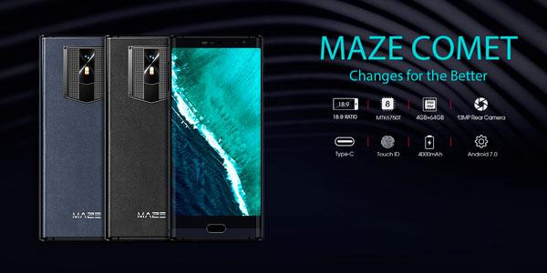 Maze Comet características técnicas y especificaciones