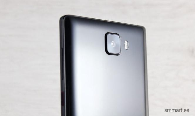 Elephone S8 carcasa trasera de policarbonato