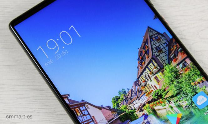 Elephone S8 pantalla sin marcos