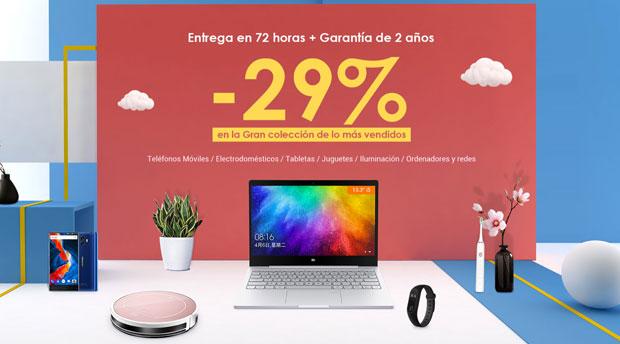 Top ventas gearbest españa con ofertas abrl 2018