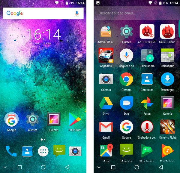 Maze Alpha X Android 7 Nougat