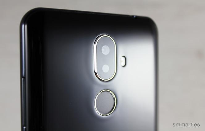 Cubot X18 Plus cámara Samsung doble