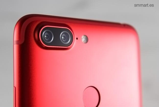 Lenovo S5 cámara dual trasera