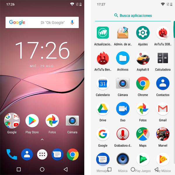 Cubot P20 Android 8 Oreo