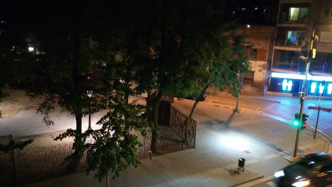 Cubot P20 fotos de noche