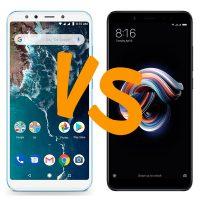Comparativa Xiaomi Mi A2 vs Xiaomi Redmi Note 5