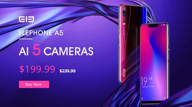 Elephone A5 comprar a buen precio en oferta
