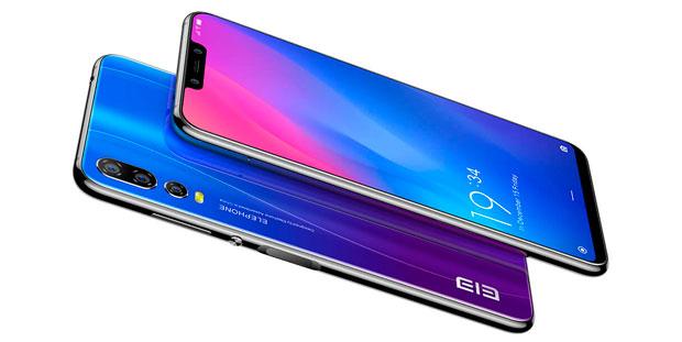 Elephone A5 diseño con materiales de calidad