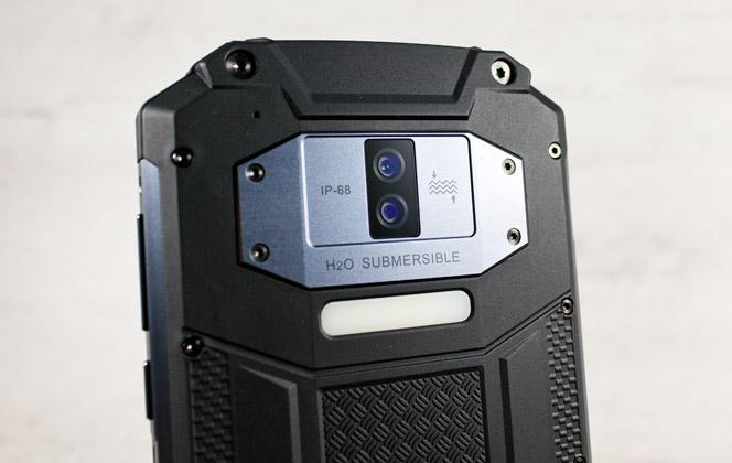 Oukitel WP2 cámara Samsung 16 megapíxeles