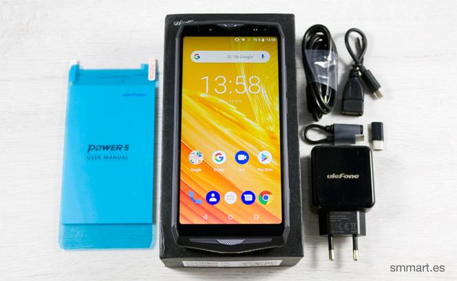 Ulefone Power 5 unboxing y comprar barato