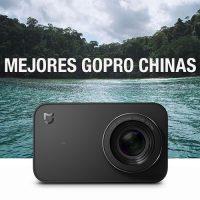 Las mejores cámaras de acción deportivas chinas GoPro