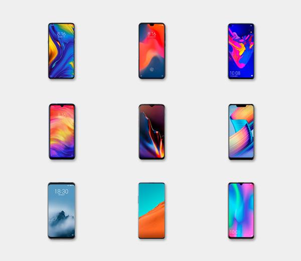 Mejores móviles chinos 2019