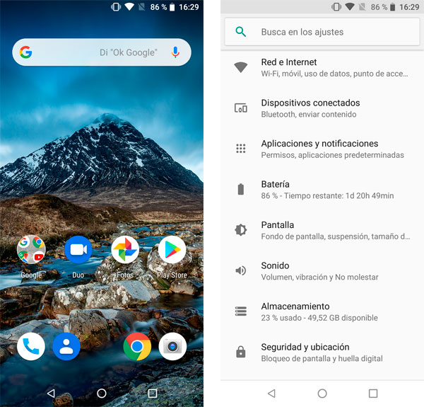 Cubot X19 Android 8 Oreo