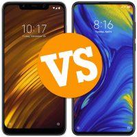 Poco F1 vs Xiaomi Mi Mix 3