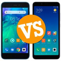 Comparativa del Redmi Go vs Xiaomi Redmi 6A