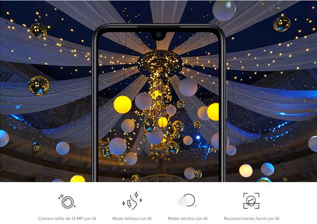 Redmi Note 7 cámara 48 megapíxeles
