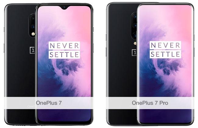 Comparativa OnePlus 7 y OnePlus 7 Pro