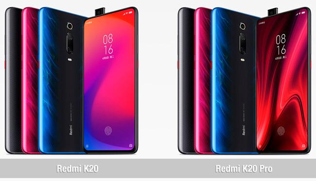 Comparativa del Redmi K20 vs Redmi K20 Pro