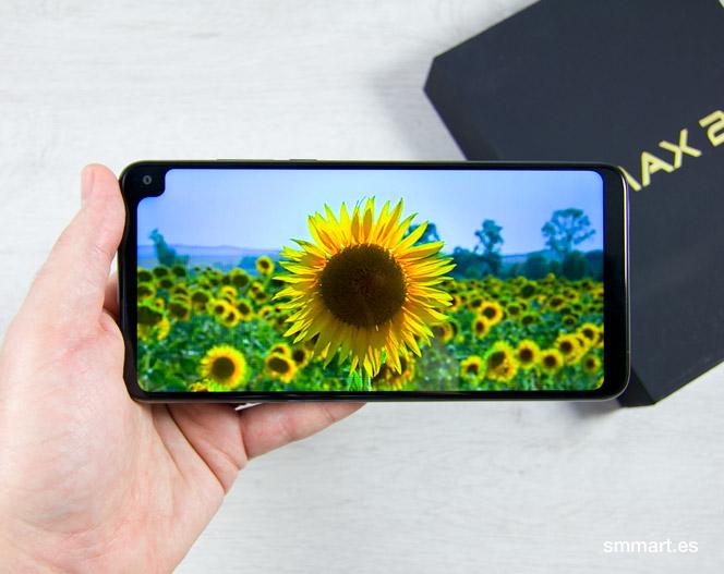 Cubot Max 2 pantalla de 6,8 pulgadas