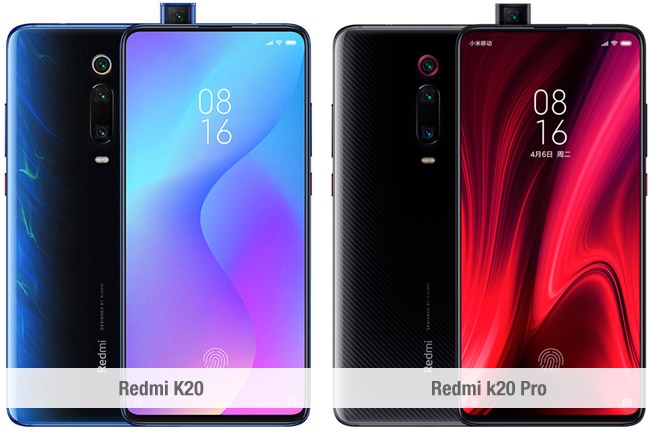 Diferencias entre el Xiaomi Redmi K20 y el Redmi K20 Pro