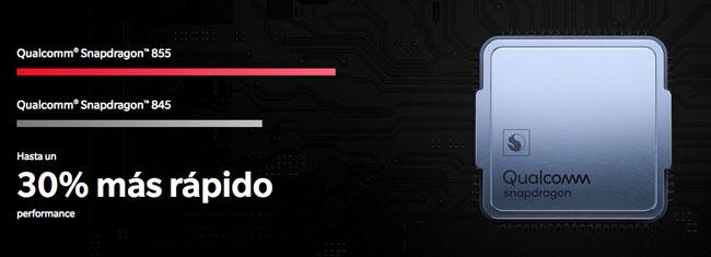 OnePlus 7 Pro procesador Snapdragon 855