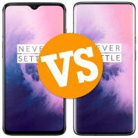 Comparativa del OnePlus 7 vs OnePlus 7 Pro
