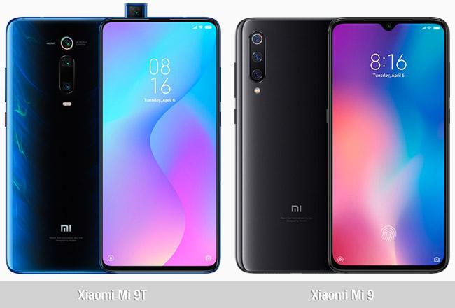 Comparativa Xiaomi Mi 9T vs Mi 9