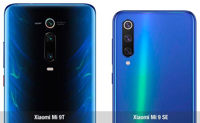 Diferencias Xiaomi Mi 9T vs Mi 9 SE
