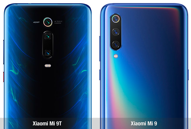 Diferencias entre el Xiaomi Mi 9T y el Xiaomi Mi 9