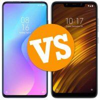 Xiaomi Mi 9T vs Pocophone F1