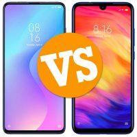 Xiaomi Mi 9T vs Redmi Note 7