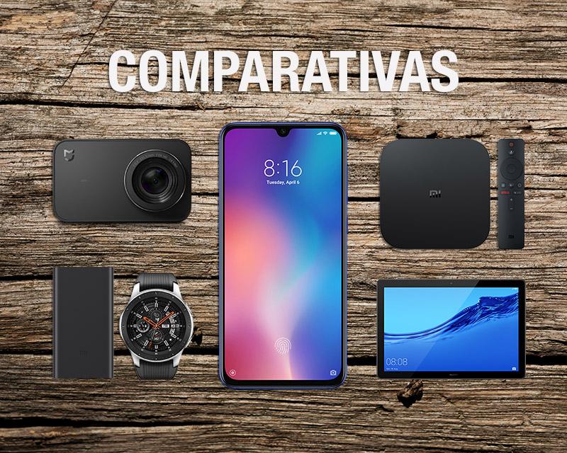 Comparativas de móviles y gadgets de electrónica