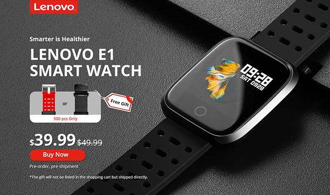 Lenovo E1 smartwatch comprar barato en oferta