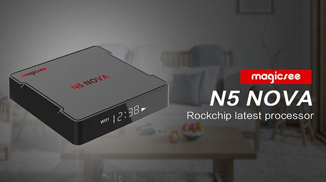 Magicsee N5 NOVA TV Box oferta flash