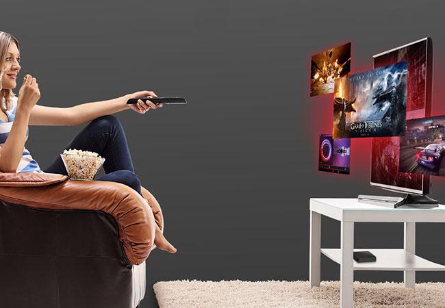 TVBox Magicsee N5 Nova películas y juegos