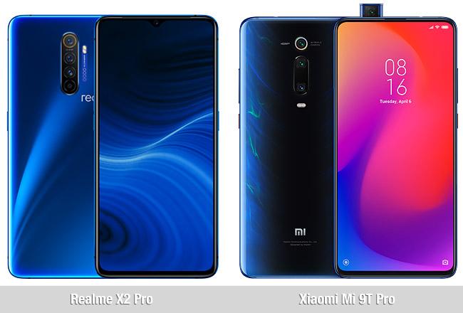 Comparativa Realme X2 Pro vs Xiaomi Mi 9T Pro