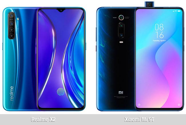Comparativa Realme X2 vs Xiaomi Mi 9T