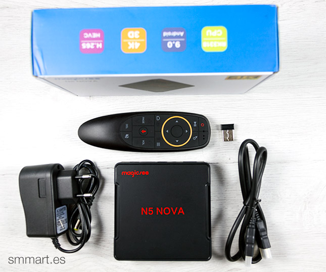 Magicsee N5 Nova TV Box comprar barato