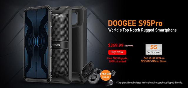 Doogee S95 Pro precio barato cupones descuento