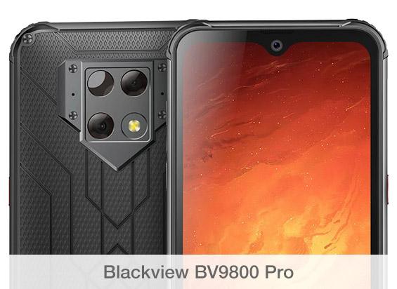 Comparativa de cámaras Blackview BV9800 Pro