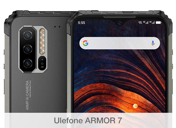 Comparativa de cámaras Ulefone ARMOR 7
