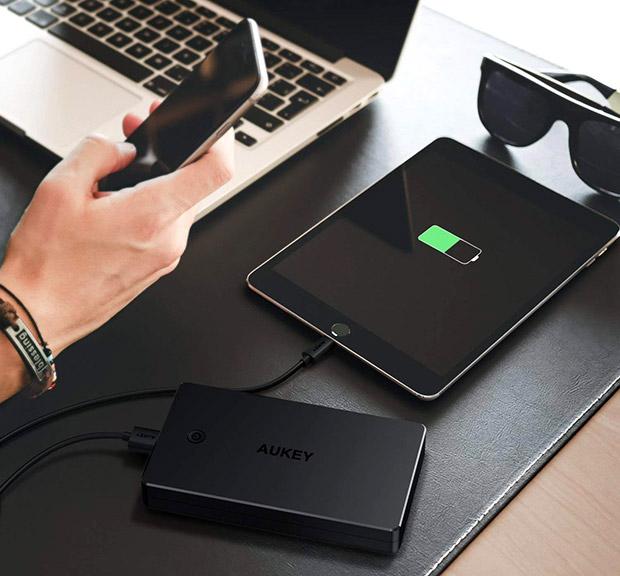 Mejores baterías externas Aukey