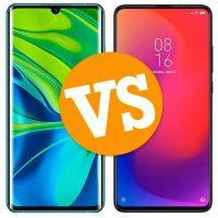 Xiaomi Mi Note 10 vs Xiaomi Mi 9T Pro
