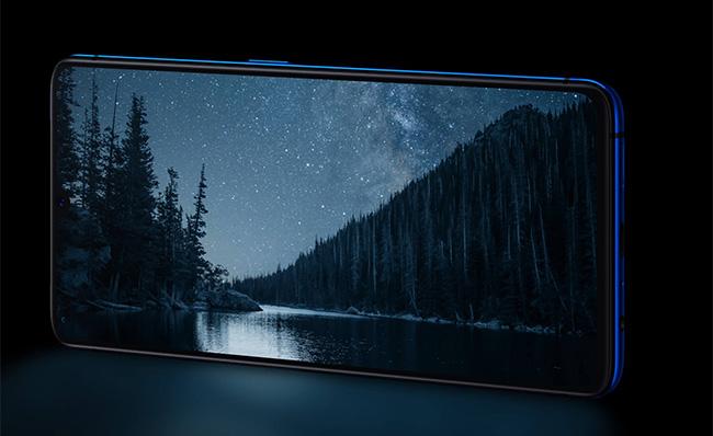 Realme X2 Pro pantalla AMOLED de 90 Hz.