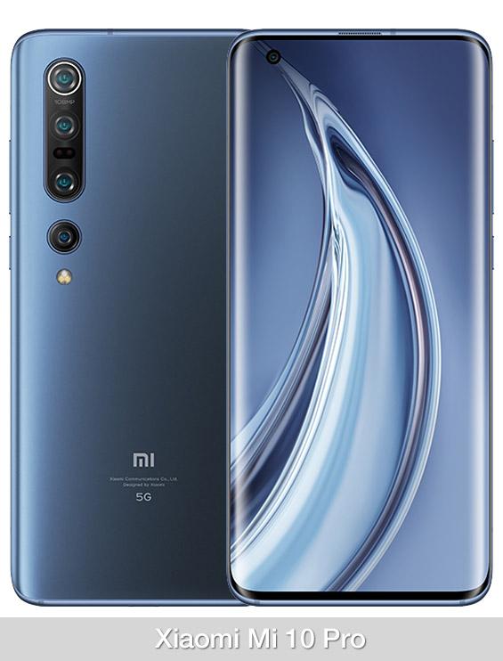 Comparativa Xiaomi Mi 10 Pro vs Realme X50 Pro
