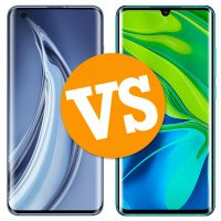Xiaomi Mi 10 Pro vs Xiaomi Mi Note 10