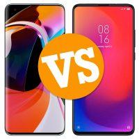 Xiaomi Mi 10 vs Xiaomi Mi 9T Pro