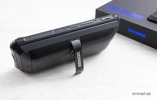 Doogee S96 Pro altavoz externo y powrbank