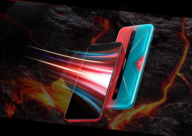 Nubia RedMagic 5G pantalla gaming 144Hz.